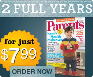 2 Years of Parents Magazing For Only $7.99! Plus Free Birthday Party Planner!