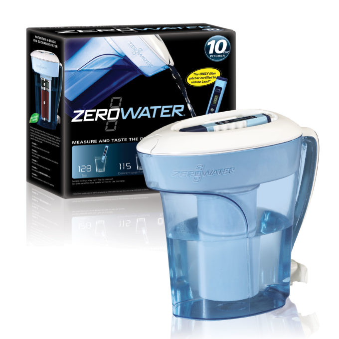 Happy World Water Day – ZeroWater Pitcher Review, Coupon, & Giveaway!