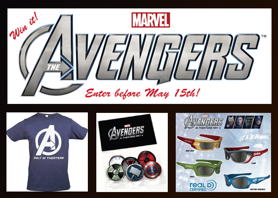 Avengers prize pack
