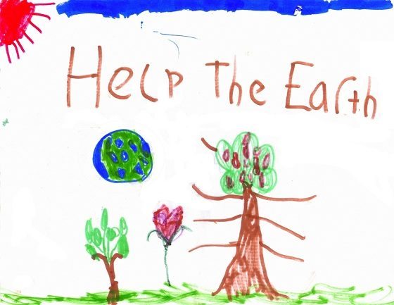 Happy Earth Day!  5 Simple Green Steps You Can Do With Your Kids!