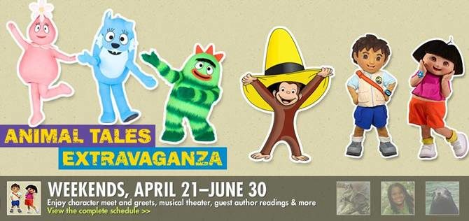 Bronx Zoo's Animal Tales Extravaganza Kicks Off This Weekend!