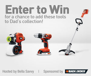 Dad's Backyard Oasis Father's Day Giveaway!