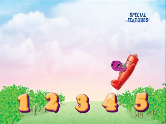 Barney Counting Game
