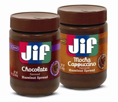 NEW Yummy Product Alert -Jif Hazelnut Spreads!