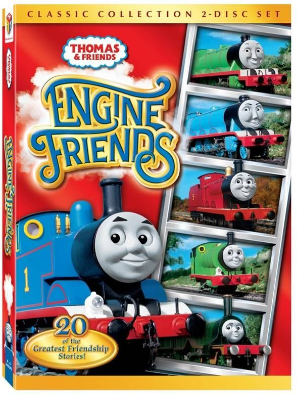 "Meet Thomas' Friends in ""Thomas & Friends: Engine Friends"" Review & Giveaway!"