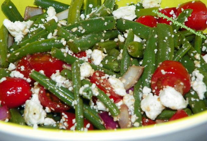 Balsamic Green Bean Salad – 4th Of July & Summer Recipes!