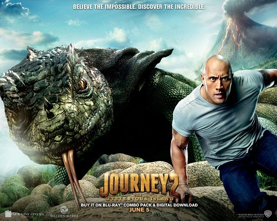 Warner Bros. Journey 2 The Mysterious Island DVD Giveaway & Fun App!