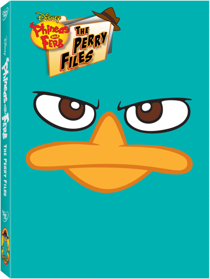 PHINEAS & FERB: The Perry Files on DVD Review & Giveaway!