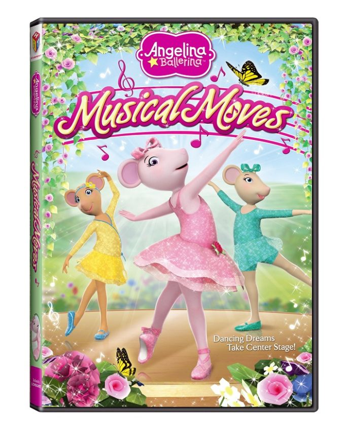 Angelina Ballerina: Musical Moves DVD Review & Giveaway!