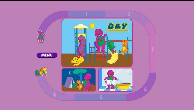 "Barney ""Let's Learn About Opposites"" Game"