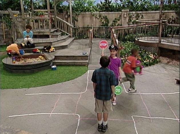 Barney Stop! Go!