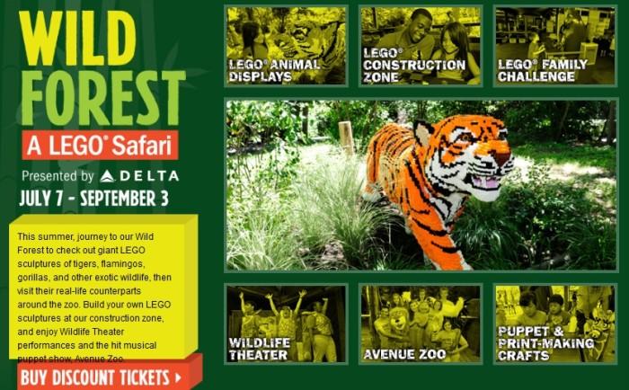Bronx Zoo LEGO Safari
