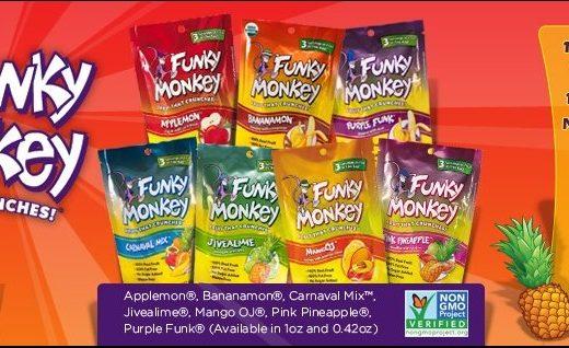 Funky Monkey Fruit Snacks
