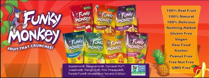 Funky Monkey Snacks Twitter Party And Prize Pack Giveaway –  Enter here!