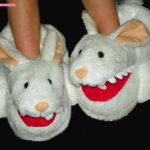 Killer Rabbit Slippers