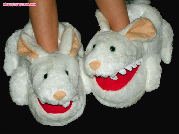 Bunnyslippers.com Review & Monty Python's Killer Rabbit Slippers Giveaway!