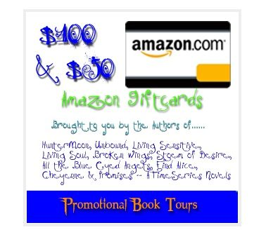 Promotional Book Tours – Amazon.com $100 GC & $50 GC Giveaway!