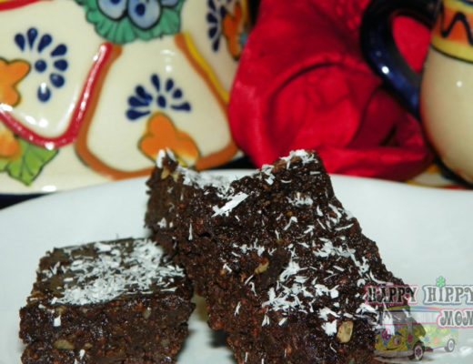 Raw Organic Maqui Berry Brownies