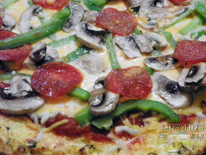 Cauliflower Pizza Crust – Low Carb Recipe