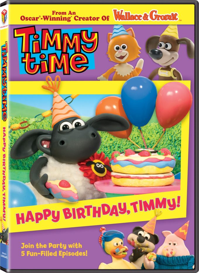 Timmy Time: Happy Birthday, Timmy DVD Review & Giveaway!