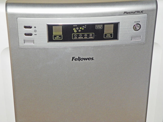 Fellowes Quiet Air Purifier with True HEPA Filter- Naturally Relieve Allergies!