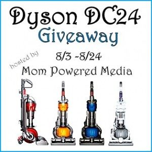 The Dyson DC24 Cleaner Home Giveaway Event! Bloggers Signup NOW!