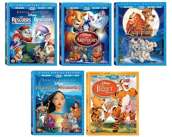 Disney Blu-ray Releases