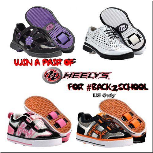 Heelys Back-to-school Giveaway!  # back2school