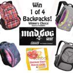 MadDog Gear Backpack Giveaway! 4 Winners #back2school