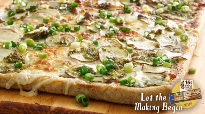 NEW Pillsbury Artisan Pizza Crust with Whole Grain- Fresh Recipes – Sponsored Video