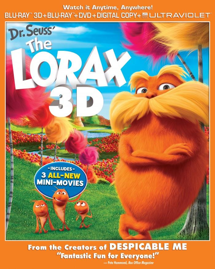 The Lorax Blu-ray Box Art 2D