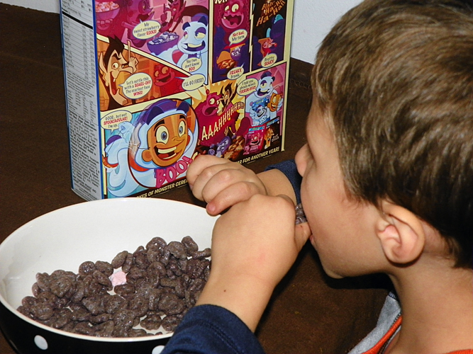 Big G Monsters Cereals