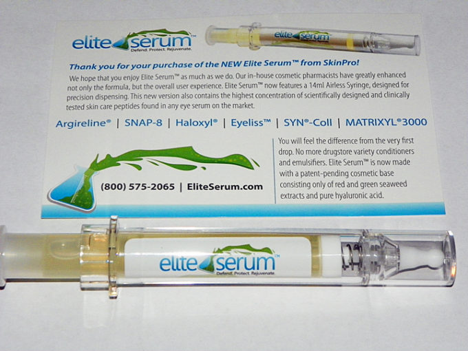 SkinPro Elite Serum Review & Giveaway! $89.95 Value!