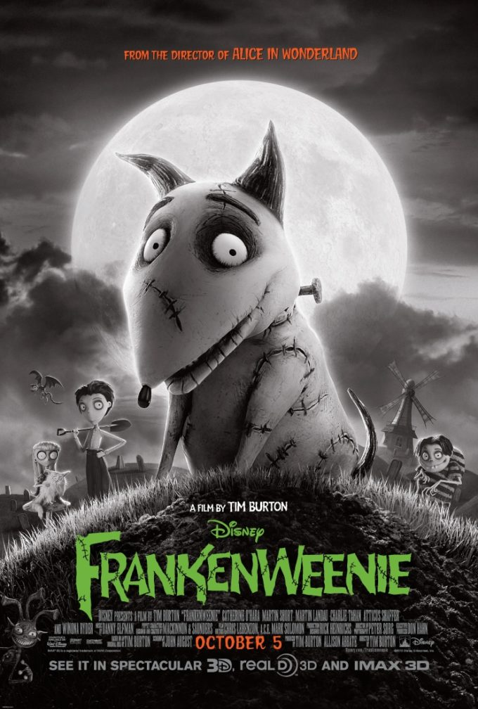 Disney's Frankenweenie Monstrous Sweepstakes!