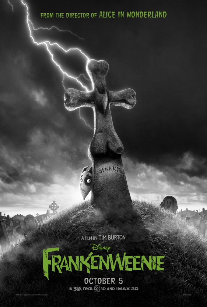 Disney's FRANKENWEENIE – Family Activity Sheets!