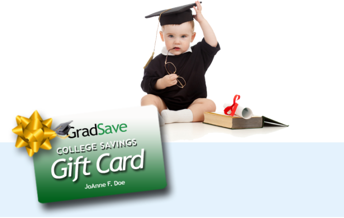 GradSave Give The Gift Of College- $10 Off Purchase Offer!