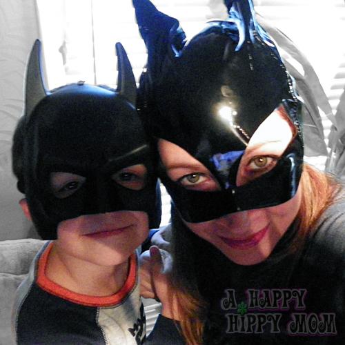 Little Batman & Catwoman