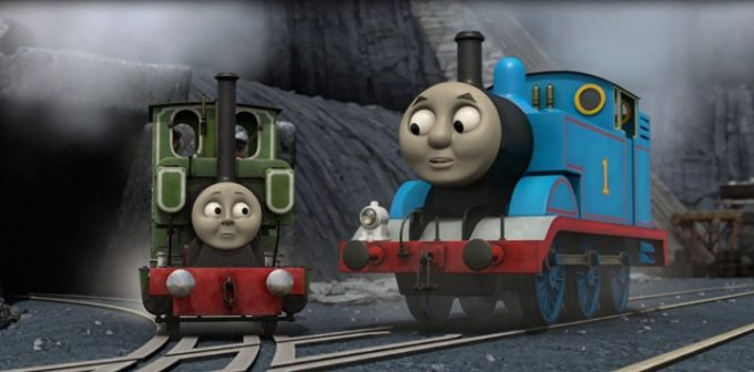 Thomas & Friends: Blue Mountain Mystery-The Movie DVD Review & Giveaway!