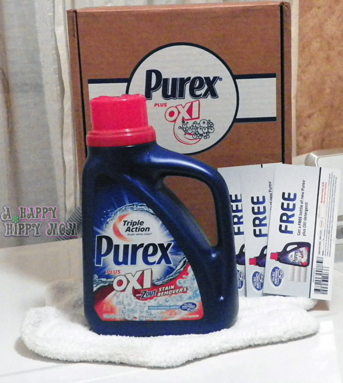 NEW Purex plus Oxi Laundry Detergent, Sweepstakes, & Giveaway! #Purex