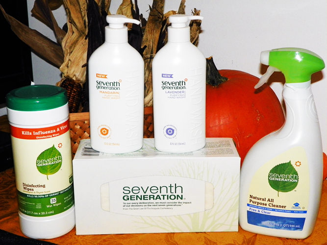 Seventh Generation Monster DIY Project & Germ Prevention Prize Pack Giveaway!