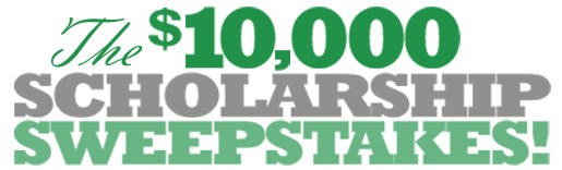 GradSave $10,000 Scholarship Sweepstakes & $10 Off Promotion!