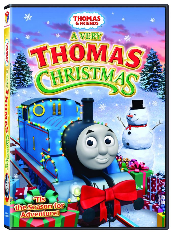 Thomas & Friends: A Very Thomas Christmas DVD Review & Giveaway!