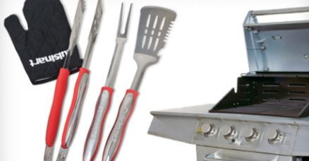4pc Cuisinart Grill Set $15, 14pc $25
