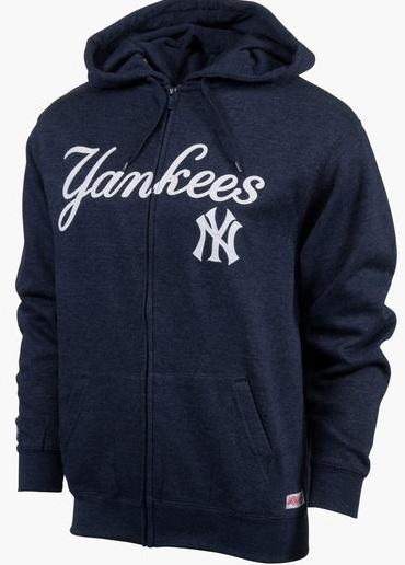 Dynasty Major League Baseball Full Zip Hoodies