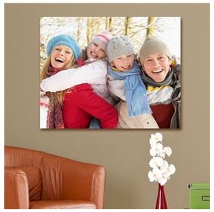 Family Photo 18 x 24 Canvas