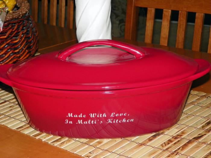 Malti's Casserole Dish