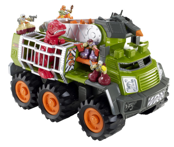Matchbox Big Boots Dino Adventure Squad Vehicle Review