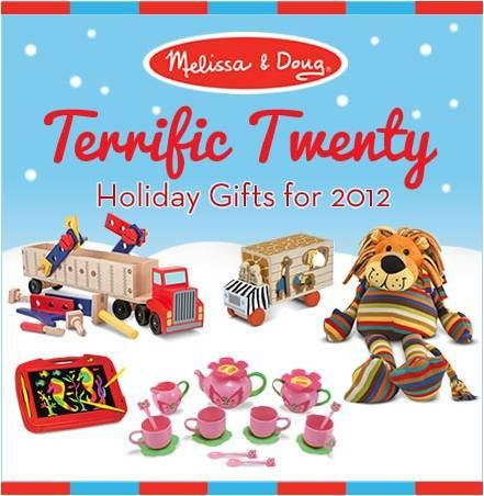 Melissa & Doug Terrific Twenty List and Giveaway!