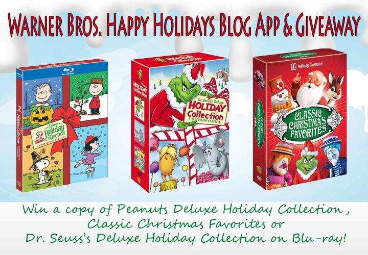 Warner Bros Happy Holidays Blog App & Giveaway