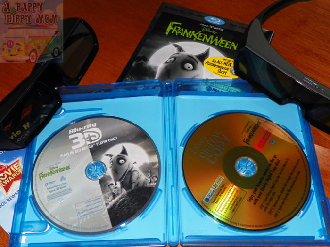 Disney's Frankenweenie 3D 4-Disc Blu-ray Combo Pack Review